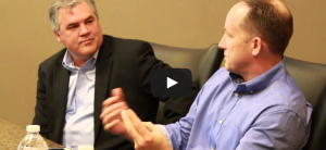 Ken Krogue at the Sales Roundtable discussion of BusinessQ Magazine